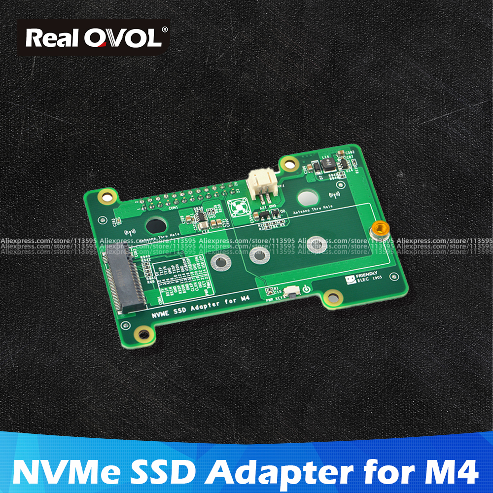 RealQvol FriendlyELEC NVMe SSD Adapter For M4 Nanopi M4
