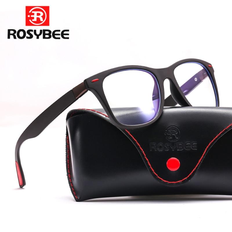 TR90 Anti Blue Light Computer Glasses Frames Men High Quality Glass Frames Women Men Trend Styles Brand Optical Reading Glasses