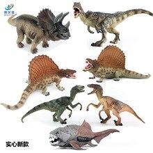 Игрушечная модель динозавра Юрского периода, пластиковая имитация динозавров, Трицератопс, быстрый и яростный дракон, развивающая игрушка