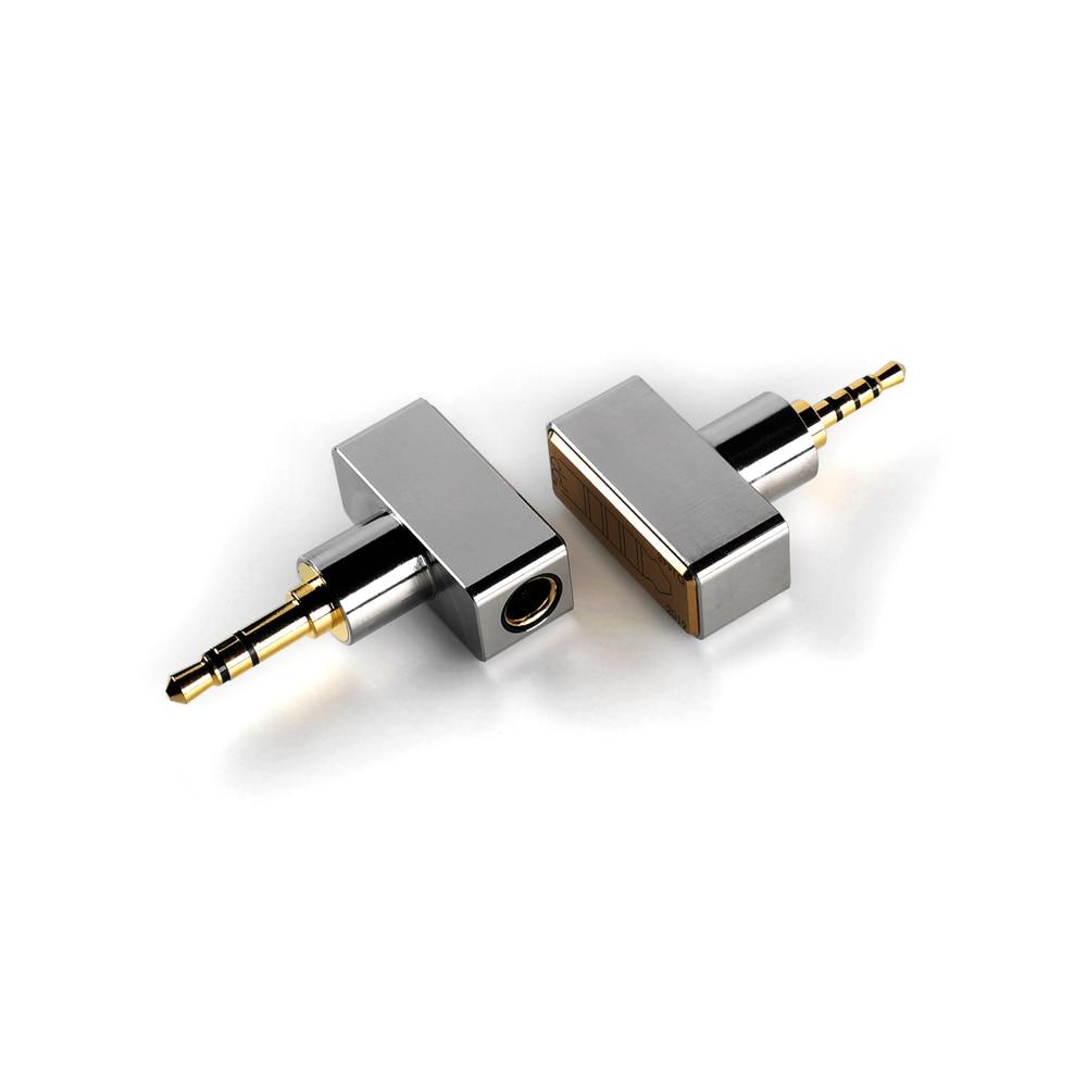 DD ddHiFi DJ44B DJ44C, Женский 4,4 сбалансированный адаптер. Применяется к кабелю для наушников 4,4 мм от таких брендов, как atell & Kern, FiiO и т. д.