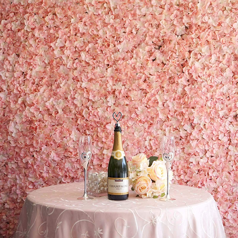 1pcs 40X 60CM Flower Wall Screen Artificial Flowers Romantic Floral Backdrop Wedding Decor Photography Background Home Decor