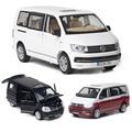 Модель автомобиля из литого сплава в масштабе 1:32 VW Multivan T6, подарок на день рождения мальчика, детский игрушечный автомобиль, бесплатная дост...