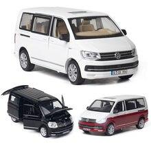 1:32 vw multivan t6 van pão fundido liga modelo de carro collectibles menino presente aniversário das crianças brinquedo carro frete grátis