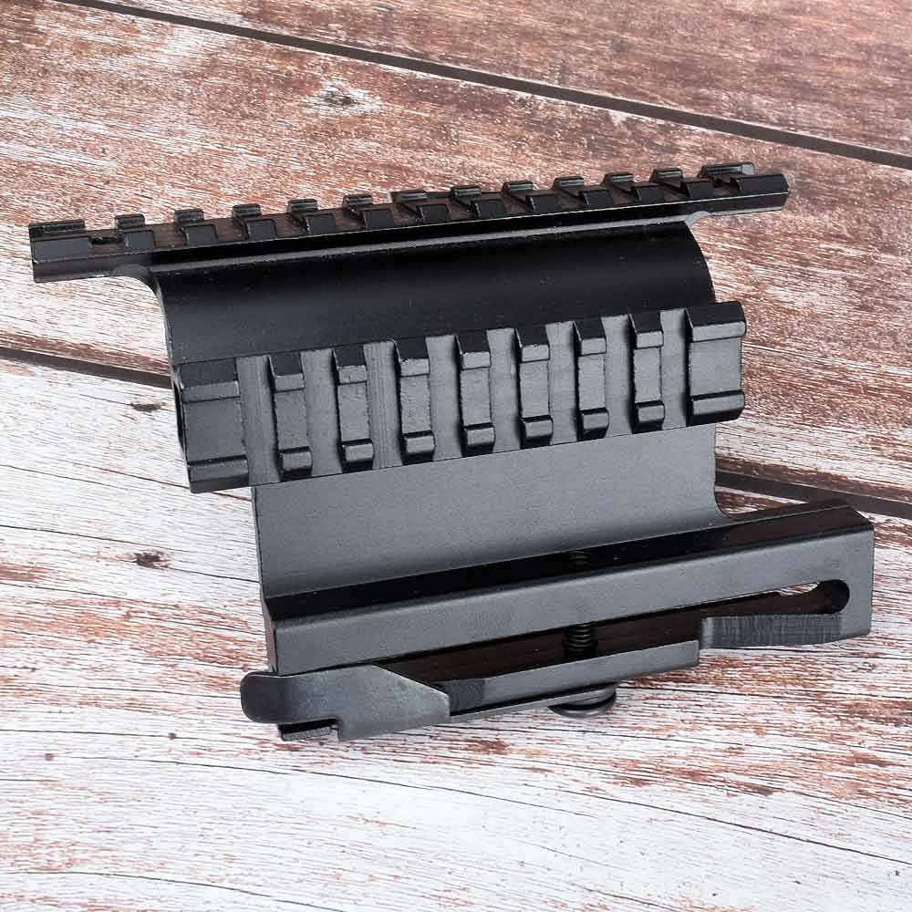 Jagd Tactical Picatinny Weaver AK Serie Schiene Seite Montieren Schnell QD 20mm Detach Doppel Seite AK Zielfernrohr Anblick halterung