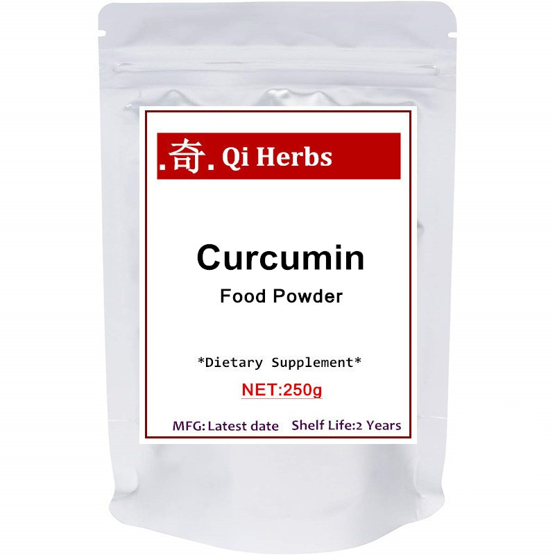 Maximum Strength Organic Pure Curcumin Powder (With 95% Curcuminoids), For Joint Support
