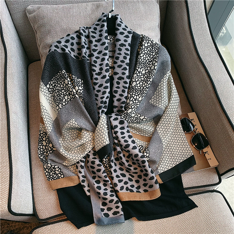 2020 marka jesień zima kobiety plaża jakości szal bawełniany szalik lady moda szaliki chustka szal pashmina hidżab tłumik