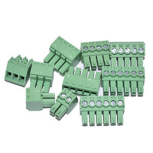 15EDGRK Terminal-Block Connector Plug-In-Type for Row PCB Green Pitch 2EDGK-3.81/3.5MM