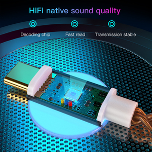Image 4 - KEYSION HIFI DAC earphone Amplifier USB Type C to 3.5mm Headphone Jack audio adapter 32bit 384kHz Digital Decoder AUX Converter