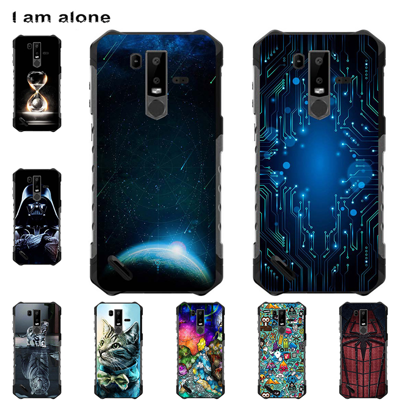 Phone Bag For Ulefone Armor 6 6E 6S 6.2 inch Solf TPU Silicone Mobile Case DIY Housing Customized Handset Shell Cellphone Cover