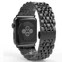 Strap + uhr fall Für apple watch band 44mm 40mm apple watch 5 3 4 42mm/38 iwatch band correa Edelstahl pulseira armband