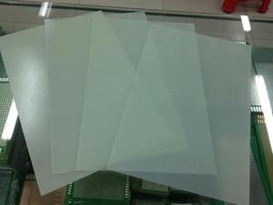 Image 1 - 20*30CM 0.5mm Bare test board Test universal board High temperature Insulation board Green glass fiber PCB board
