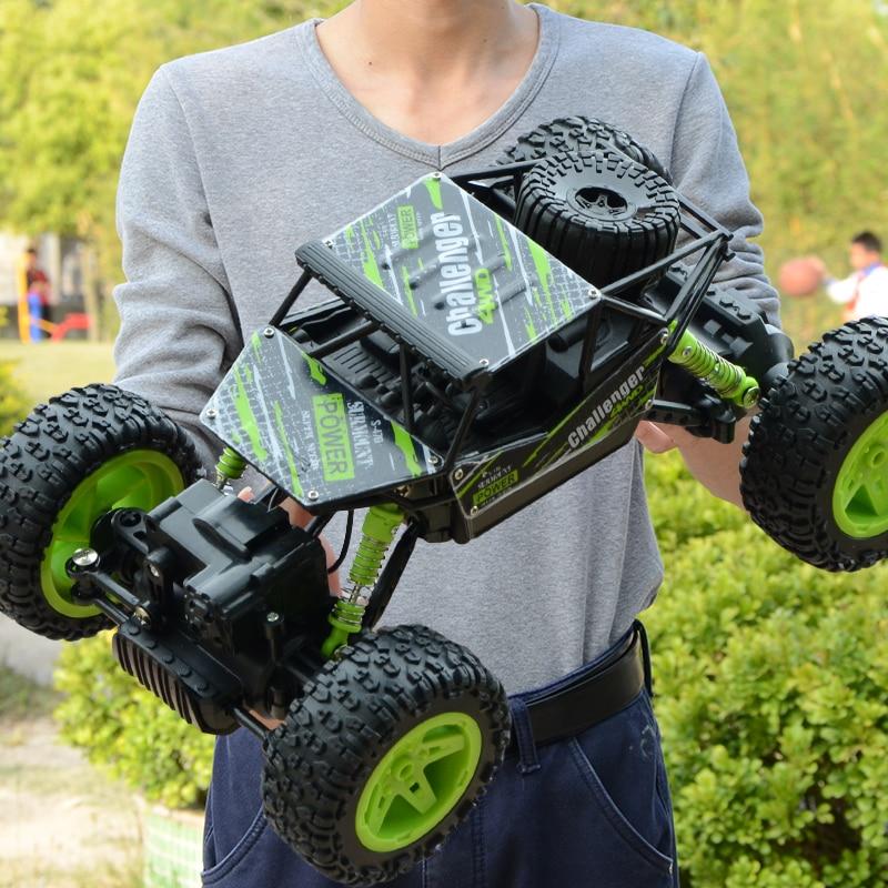 1:18 4wd rc coches 2,4G control remoto coche Juguetes Coche remoto Buggy camiones todoterreno juguetes para niños regalo