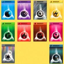 50 карт/набор Покемон PTCG batch N Card 10 энергетические карты различные карточки для реквизита тренажер карты детские игрушки подарки