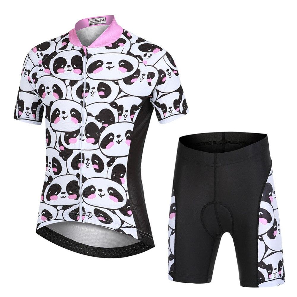 Crianças roupas de ciclismo bicicleta jerseys shorts