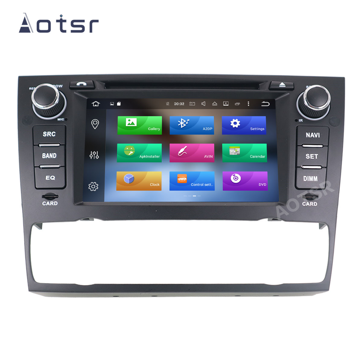 AOTSR 2 Din Android 10 Car Radio For BMW E90 E91 E92 E93 3 Series Multimedia Player Auto GPS Navigation DSP AutoRadio IPS Unit image