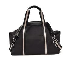 Travel Handbag Luggage Duffel-Weekend Oxford-Cloth Distance-Carry Korean-Shoulder Large-Capacity