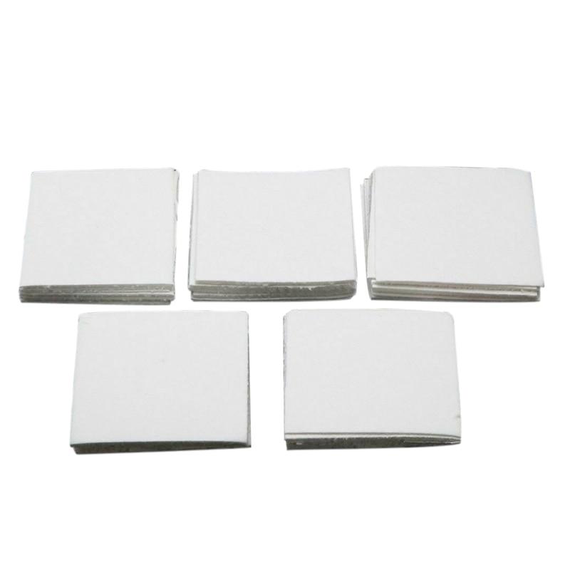 50 Sheets Ceramic Fiber Square Microwave Kiln Glass Fusing Paper Household Tools