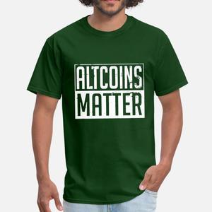 Bitcoin Crypto Blockchain Money Moon Bullrun Men Tshirt 100% Cotton O-Neck Hipster T Shirt For Men Short Sleeve Clothing Hip Hop(China)