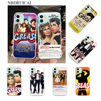 NBDRUICAI grease movie poster 1978 Phone Case Cover for iPhone 11 pro XS MAX 8 7 6 6S Plus X 5S SE XR cover image