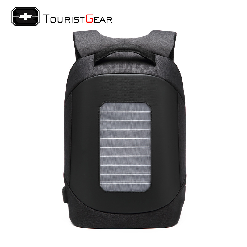 New Style Anti-Theft Solar USB Charging Backpack Multi-functional Computer Bag Travel Bag Customizable Processing Factory