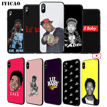 IYICAO Lil Baby Soft Phone Case for iPhone 11 Pro XR X XS Max 6 6S 7 8 Plus 5 5S SE Silicone TPU