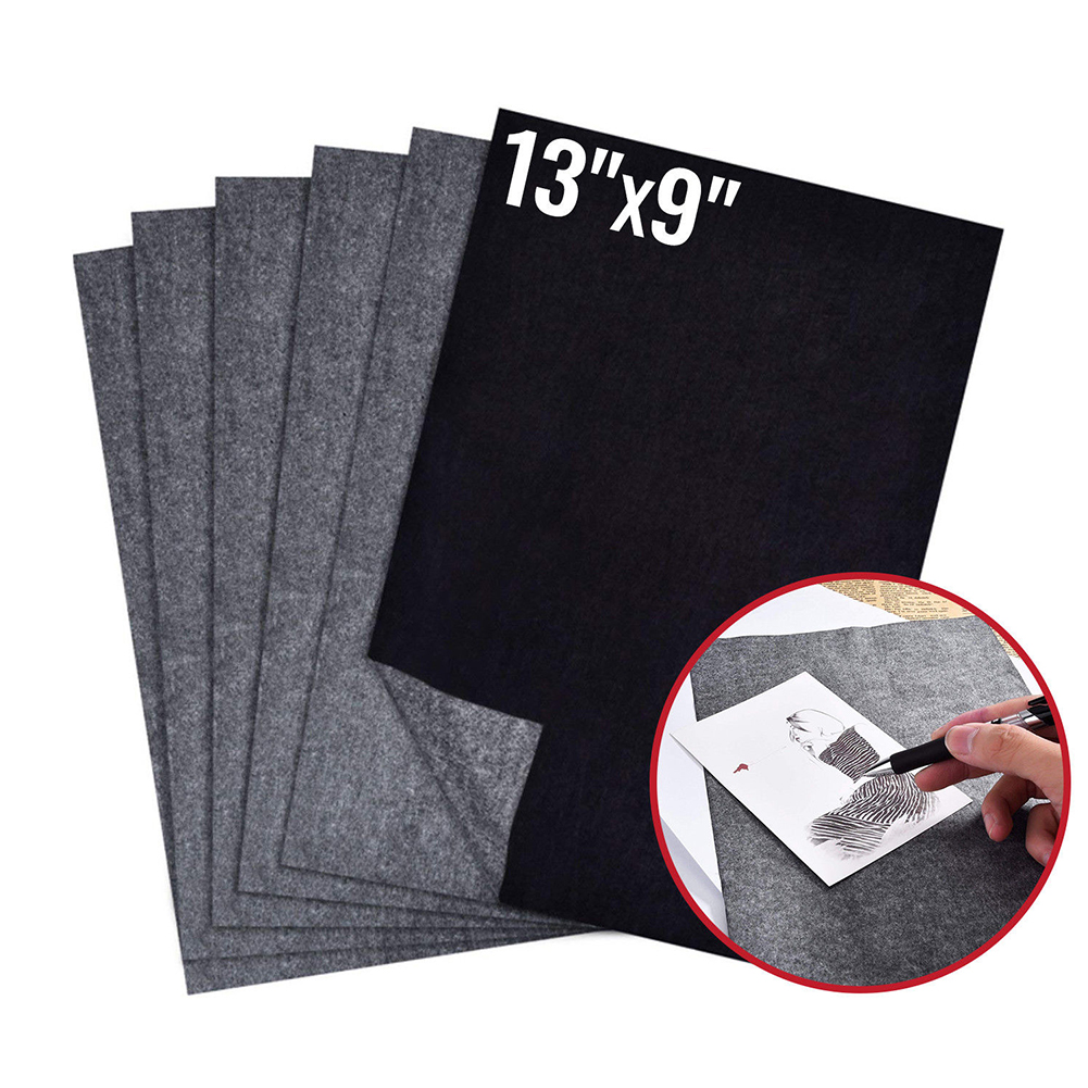 100Pcs/Set 21×29.7cm A4 Copy Carbon Paper Painting Legible Tracing Paper Graphite Painting Reusable Painting Accessories