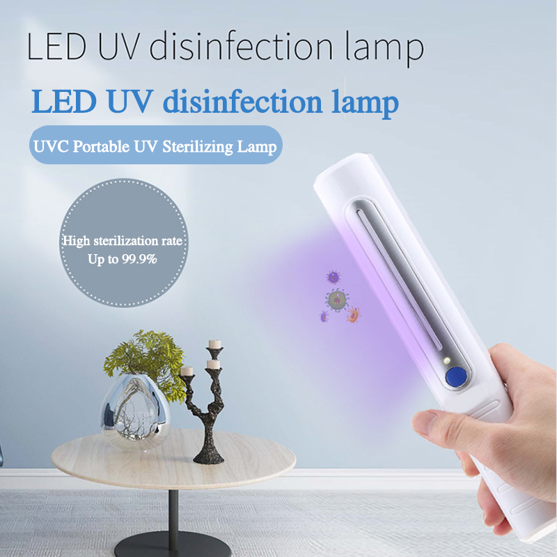 Ultraviolet Disinfection Lamp Sterilization Lamp Household Sterilization Led Antivirus Artifact Handheld Underwear Disinfection
