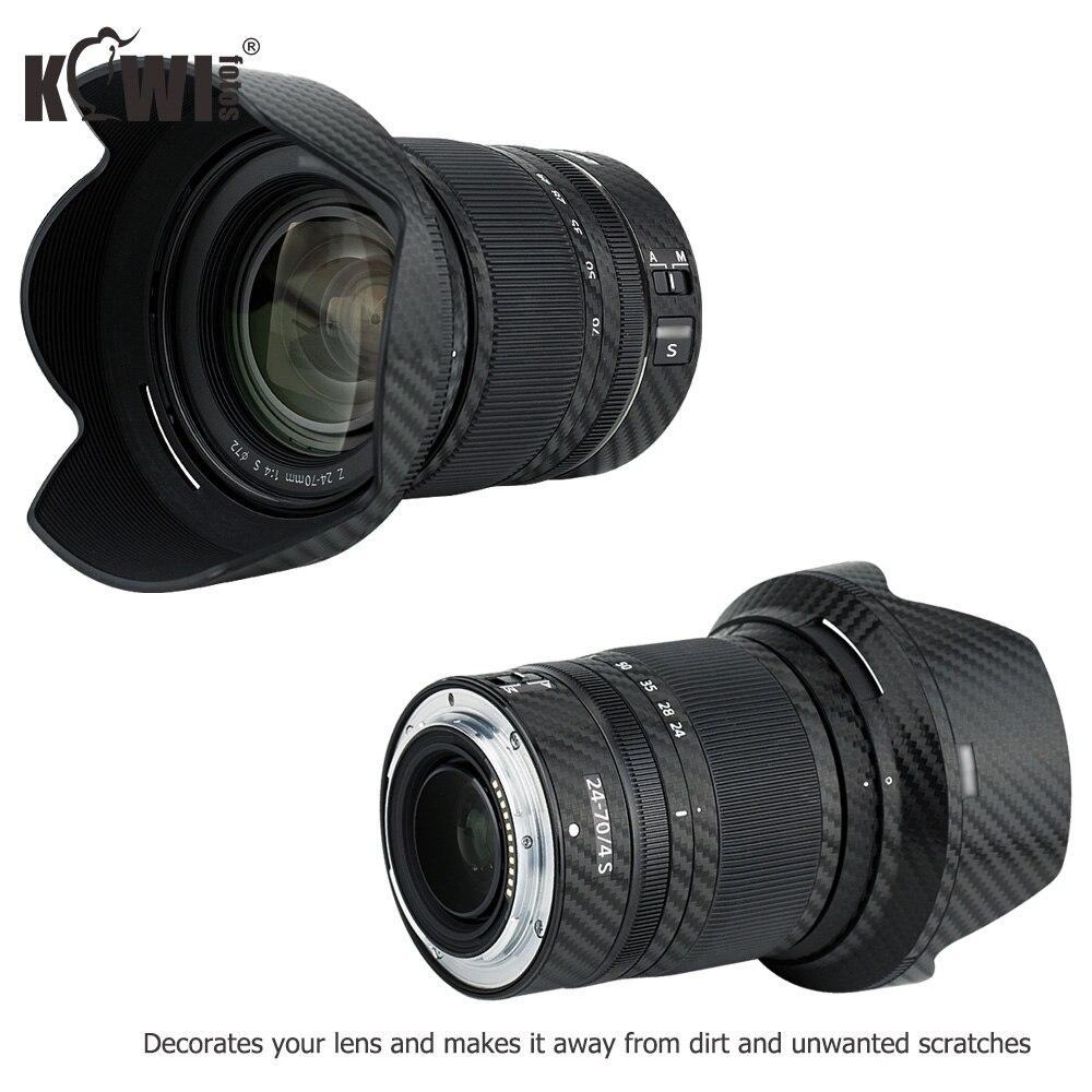Anti-Scratch Lens and Lens Hood Cover Skin Sticker Protector Film for Canon RF 24-105mm F4 L is USM Lens /& EW-83N Lens Hood Skin Guard Shield Carbon Fiber Pattern