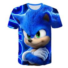 Free Shipping Girls Sweatshirt Sonic The Hedgehog Boys Clothes