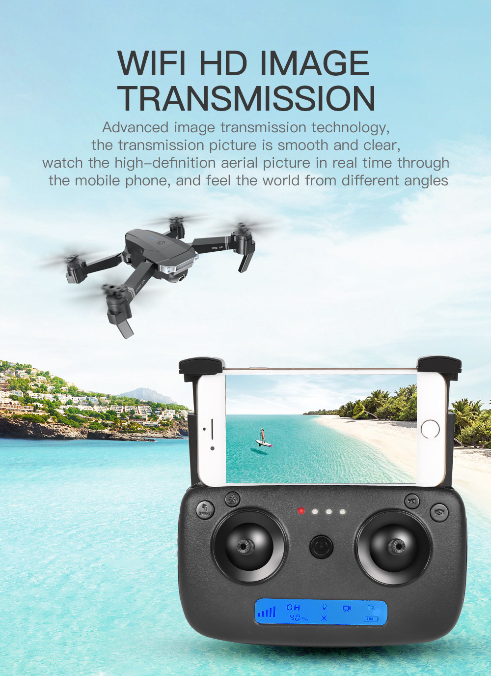 SG901 Drone First Person View
