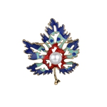 Gariton Vintage Canada Maple Leaf Enamel Brooch For Men Women Leaves Brooches Lapel Pin Fashion Jewelry Collar Pins