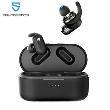SoundPEATS Truengine 2 Bluetooth 5.0 True Wireless Earbuds Dual Dynamic Drivers Crossovers Earphones Wireless Charging Earphones фото