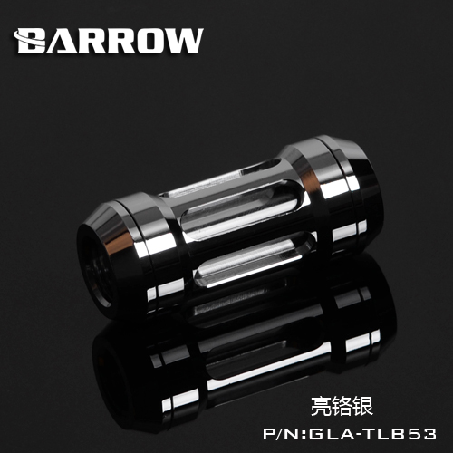 "Купить с кэшбэком Barrow G1/4"" Metal Flow Filter Black Silver Gold Water Cooling Filter Dual G1/4'' spiral pattern filters connector fitting"