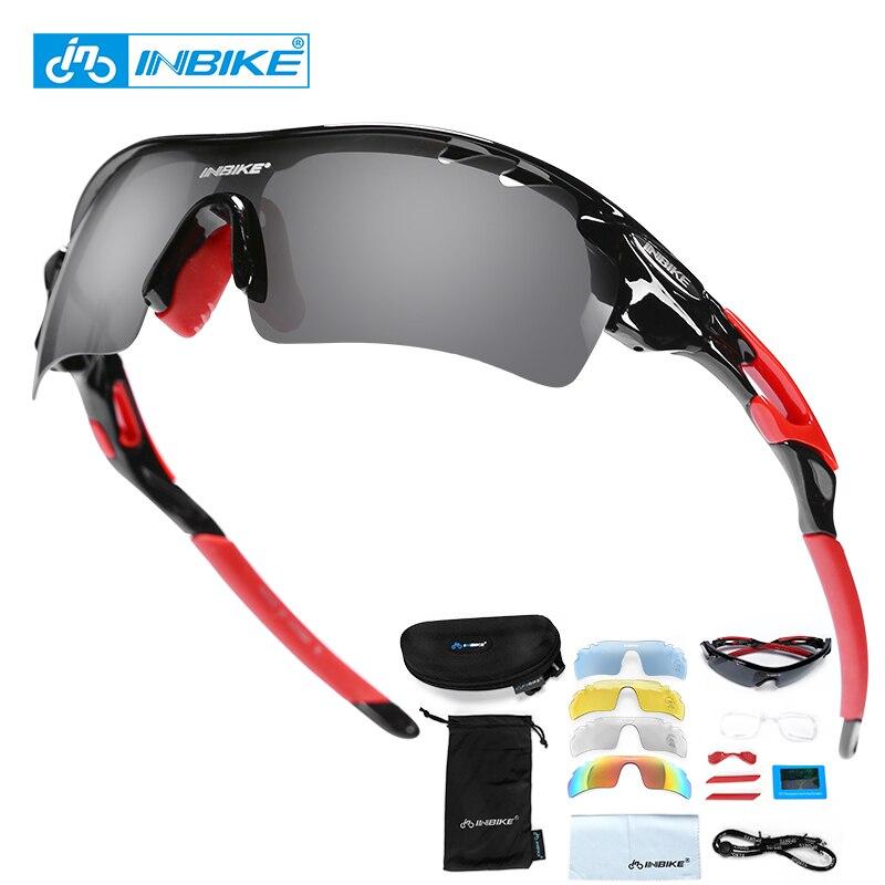 Gafas de Sol de Actividades al Aire Libre Gafas de Ciclismo Bicicleta de monta/ña Ciclismo Gafas Fotocrom/áticas Gafas de Sol Gafas de Bicicletas Gafas Ciclismo Color : Red