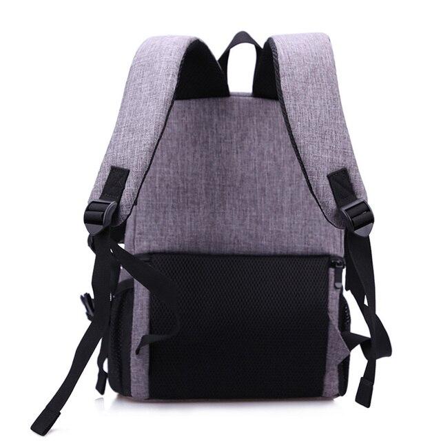 Multi-purpose DSLR Camera Bag Waterproof Photo Camera Bag Shoulder Bag Small DLSR Camera Backpack For Nikon Canon Pentax Sony 2