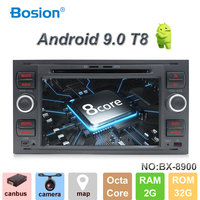 Octa core Android 9.0 Car DVD 2 Din car stereo for Ford Mondeo C max focus galaxy S max fusion ranger Multimedia Autoaudio