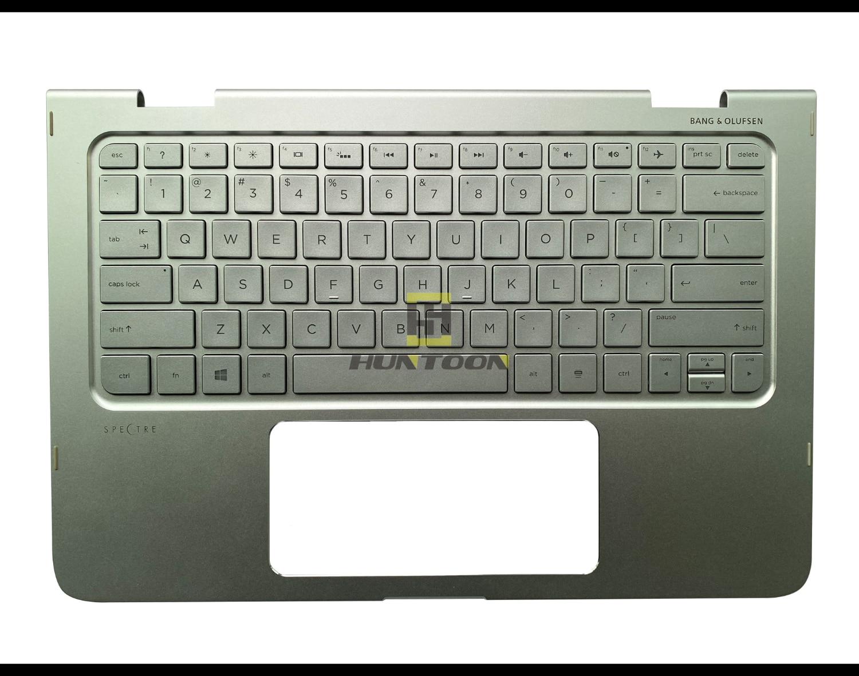 Original New For HP Spectre 15-ap 15-ap000 x360 UK Backlit keyboard