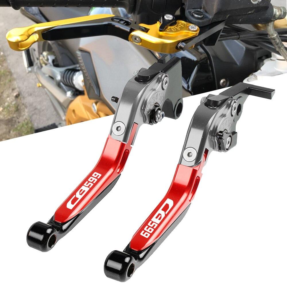 Pour Honda CB599 CB 599 CB-599 1998 1999 2000-2006 réglable course moto embrayage leviers accessoires moto