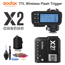 Godox X2T-C X2T-N X2T-S X2T-F X2T-O X2T-P TTL 1/8000s HSS Wireless Flash Trigger for Canon Nikon Sony Fuji Olympus Pentax