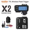 Godox X2T-C X2T-N X2T-S X2T-F X2T-O X2T-P ttl 1/8000s HSS Беспроводной триггер для вспышки для цифровой зеркальной камеры Canon Nikon sony фужи Олимпус Pentax