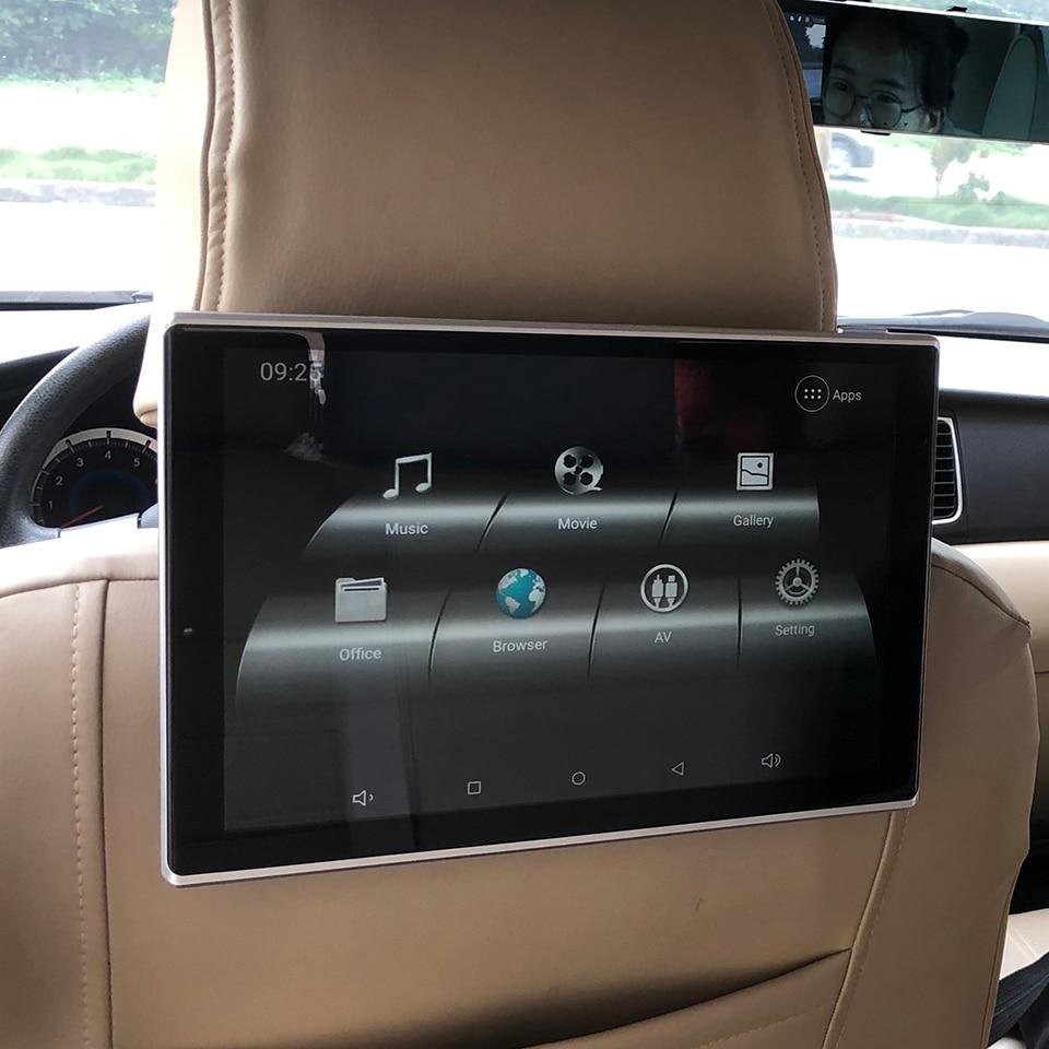 sistema de descanso de cabeca para carro tv 12v android 9 0 monitor para lexus ls