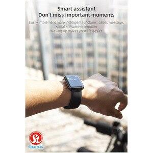 Image 4 - ساعة ذكية بلوتوث مقاوم للماء الرجال النساء Smartwatch ل أبل ساعة آيفون أندرويد ساعة رصد معدل ضربات القلب اللياقة البدنية المقتفي