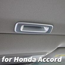 For Honda Accord 10 2018 2019 sunroof open handle stickers sequins Accord interior modified decorative accessories автомобильные держатели и подставки honda accord