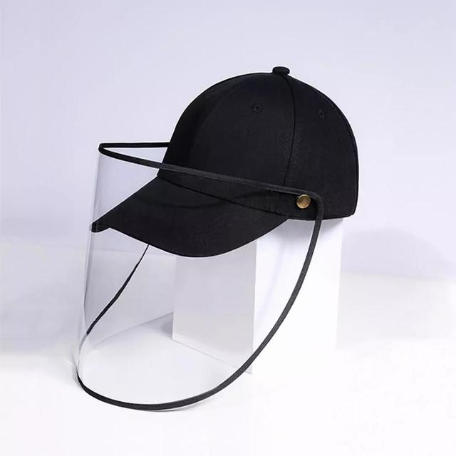 Xiaomi baseball cap Removable windproof and dustproof baseball cap Protective Face Shield Cover Cap Anti Spitting Saliva Drool 4