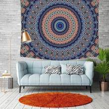 Boho Print Blanket Mandala Hanging Wall Tapestry Picnic Yoga Mat Home Art Decor for Dormitory Tapestry Room Decoration Bedspread(China)