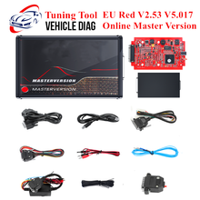 EU Red KESS V2.53 V5.017 Online Master KTAG V2.25 V7.020 ECU Tuning Tool ECM Titanium Winols BDM Frame KTM Flash ECU Programmer