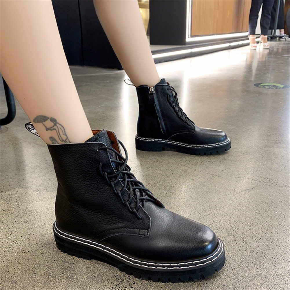 Karinluna 2019 büyük boy 43 moda marka dropship eğlence ayakabı ayakkabı kadın botları kadın ayakkabısı yarım çizmeler ayakkabı kadın