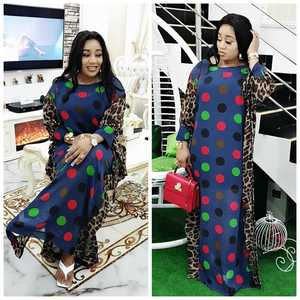 Image 3 - 2020 Length 150cm 2 Piece Set African Dresses For Women Africa Clothing Muslim Long Dress Length Fashion African Dress For Lady