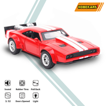 HOBEKARS 1:32 Metal Alloy Model Car Diecasts Toy Vehicles War horse Simulation Toy Car With Sound Light Pull Back For Kids 1 32 toy car simulation alloy catapult chariot three in one children sound and light pull back toy racing car ornaments model