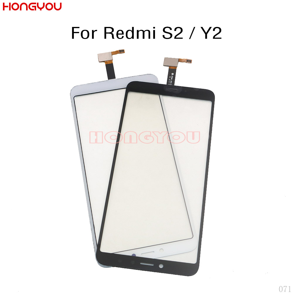 Digitizer Lcd-Display Touch-Screen-Sensor Xiaomi Redmi Front-Panel for Y2 Outer-Glass title=